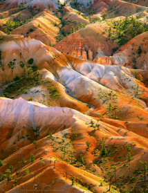 <h5>Fairyland Mountains</h5><p>Bryce Canyon National Park, Utah																																																																																																																																																																																																																																																																																																																																																																																																																																																																																																																																															</p>