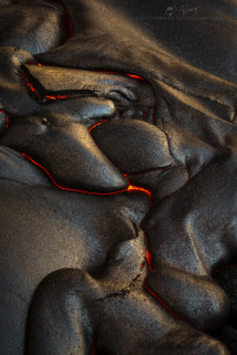<h5>The Fire Within</h5><p>Lava flow at the 61G site - Kilauea, Hawai'i																																																																																																																							</p>